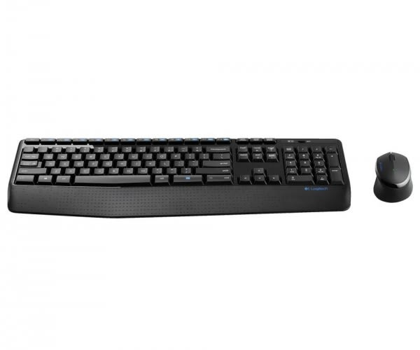 Logitech 羅技 MK345無線鍵鼠組(黑)