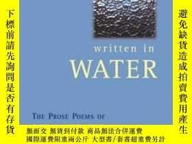 二手書博民逛書店Written罕見In WaterY364682 Cernuda, Luis Consortium Book