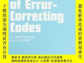 二手書博民逛書店The罕見Theory Of Error-correcting CodesY255562 F.j. Macwi