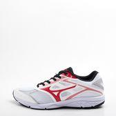 Mizuno  寬楦 MAXIMIZER 21男慢跑鞋 白/紅   大尺碼 K1GA190061