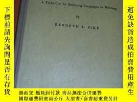 二手書博民逛書店PHONEMICS:A罕見Technique for Reducing Languages to Writing奇