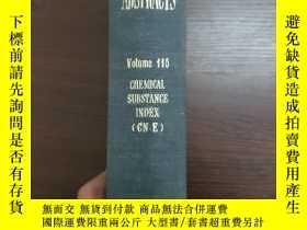 二手書博民逛書店CHEMICAL罕見ABSTRACTS Vol.115 CHEMICAL SUBSTANCE INDEX(GN-E