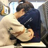 充氣枕頭便攜充氣u型枕抱枕旅行睡覺神器趴睡·樂享生活館