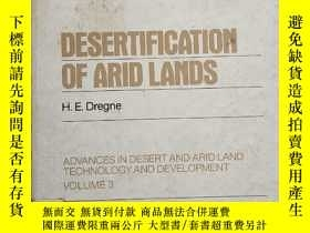二手書博民逛書店DESERTIFICATION罕見OF ARID LANDSY380430 見圖 見圖 出版1983