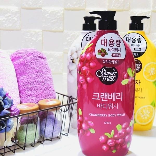 【Shower Mate】微風如沐果香沐浴乳(蔓越莓) 1200ML