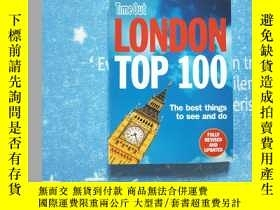 二手書博民逛書店time罕見out London top 100Y202807