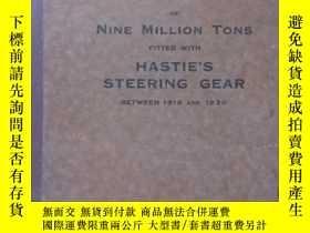 二手書博民逛書店(船舶目錄資料罕見上海馬爾康洋行藏書 1850 SHIPS OF