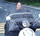 電動車擋風被冬季加絨加厚電瓶車防曬防風擋風罩防雨雙面防水秋冬