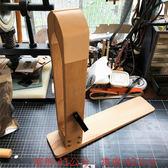 全新新式改良式手縫木夾夾皮器(夾口一體式)-夾口已貼真皮