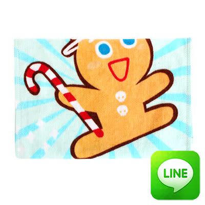 【銅板價】Line明星純棉童巾-跑跑薑餅人(共3色)
