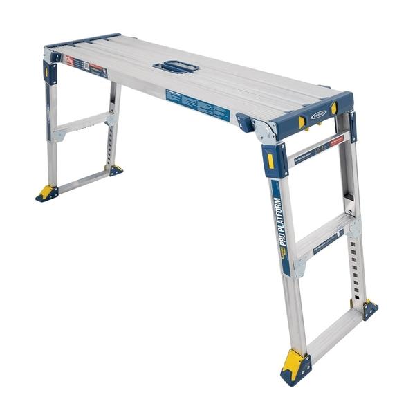 美國Werner穩耐安全鋁梯-AP-2030MP3多功能伸縮工作平台梯 洗車台