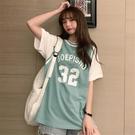 籃球服短袖t恤女ins潮2021年新款原宿風韓風chic港味假兩件上衣夏