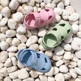 兒童洞洞鞋  寶寶拖鞋兒童拖鞋夏男1-3歲防滑軟底嬰幼兒小孩涼拖鞋