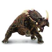 《 COLLECTA 》刺盾角龍╭★ JOYBUS玩具百貨