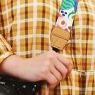 原創插畫單反拍立得相機肩帶掛脖通用減壓背帶掛繩 藍色 洛小仙女鞋