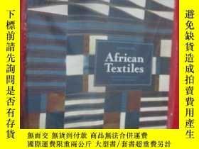 二手書博民逛書店African罕見Textiles: Color and Cre