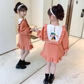 女童秋裝洋裝2020新款洋氣韓版中大兒童網紅裙子女孩長袖公主裙 設計師生活百貨