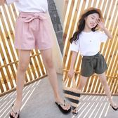 夏裝女童短褲中大童寬鬆全棉休閒褲