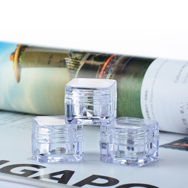 『藝瓶』瓶瓶罐罐 空瓶 空罐 隨身瓶 旅行組 藥膏盒 化妝保養品分類瓶 透明方形乳霜分裝瓶