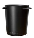 Minos 54mm 磨豆機接粉杯 EK-200磨豆機 義式把手專用 咖啡粉杯 黑色 Minos-EK-58mm-BK