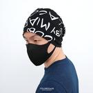 毛帽 滿版英文棉質薄款帽【NH284】