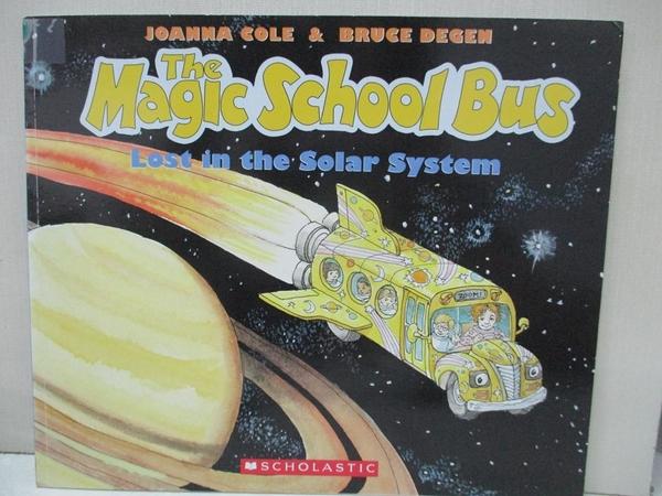 【書寶二手書T1/動植物_J8E】The Magic School Bus Lost in the Solar System_Cole