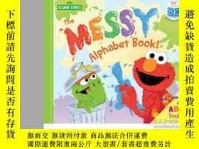 二手書博民逛書店The罕見Messy Alphabet Book!: An AB