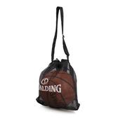 SPALDING 單顆裝側背網袋 (籃球袋 束口袋 單顆裝 斯伯丁 免運 ≡排汗專家≡