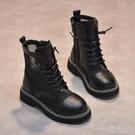 女童馬丁靴2021夏季新款鏤空公主靴子男童透氣童靴兒童春秋單靴女 一米陽光