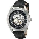 MASERATI-瑪莎拉蒂-縷空環狀機械皮帶錶/R8871612015
