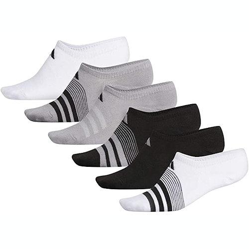 Adidas 女踝襪6雙多色系