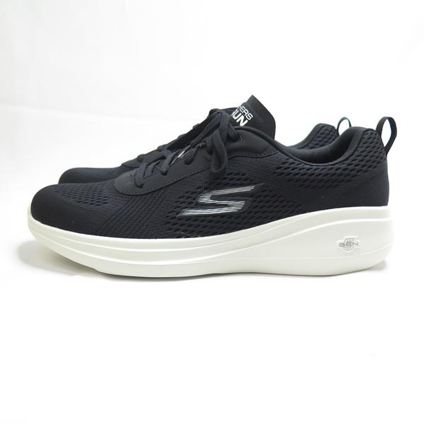 Skechers GO RUN FAST-QUAKE 男款 慢跑鞋 55106BLK 黑【iSport愛運動】