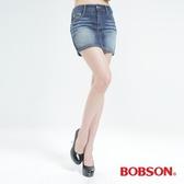 BOBSON 蝴蝶結貼鑽牛仔短裙(D088-53)