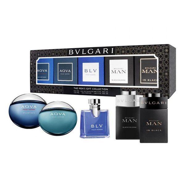 BVLGARI 寶格麗 男性小香水禮盒5入組★Vivo薇朵