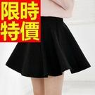 高腰短裙子自然典雅-潮流精美顯瘦日系夏季女裝4色53s51【巴黎精品】