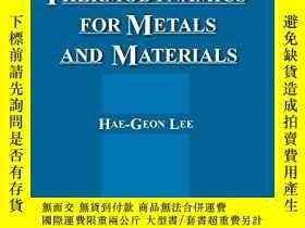 二手書博民逛書店Chemical罕見Thermodynamics For Metals And MaterialsY38040