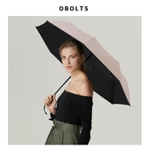 雨傘太陽傘防曬防紫外線女折疊晴雨兩用黑膠遮陽傘防曬傘upf50
