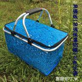30L大號外賣快餐包車載保溫包 戶外野餐 保溫送餐箱 摺疊購物籃 焦糖布丁