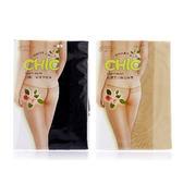蒂巴蕾 CHIC 低腰丁字彈性絲襪 一入 黑/膚TP6780 兩款供選 ☆巴黎草莓☆