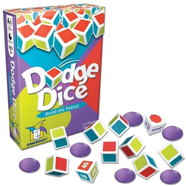 [KANGA GAMES] 躲避骰 Dodge Dice #Gamewright 家庭益智派對桌上遊戲