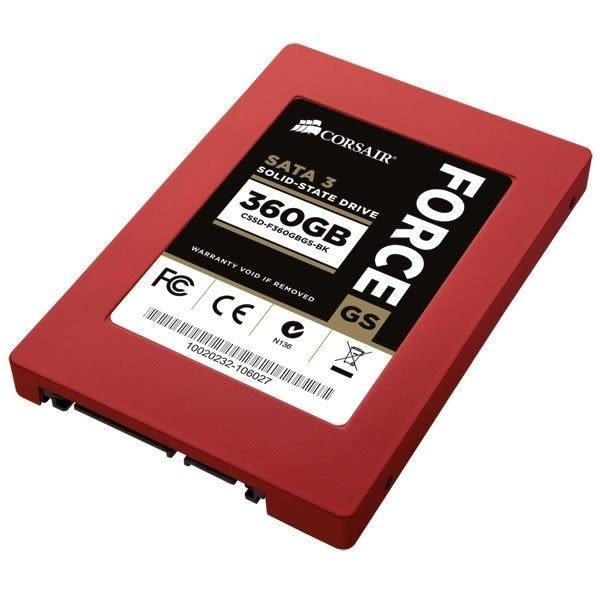 海盜船 固態硬碟 【CSSD-F360GBGS-BK】 360GB SSD固態硬碟 同步 50KIOPs 新風尚潮流