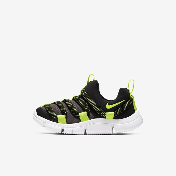 Nike Novice PS [AQ9661-005] 中童 慢跑 運動 休閒 輕量 透氣 舒適 穿搭 包覆 球鞋 黑黃