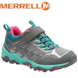 【MERRELL 美國 兒童MOAB FST LOW 健行鞋《灰藍》】ML57092/健行/運動鞋