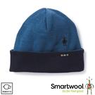 【SmartWool 美國 NTS 250反摺毛帽《亮藍》】SW0SW956/保暖帽/羊毛帽
