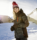 PROTEST 女 機能防水保暖外套 (真實黑) CECILE SNOWJACKET