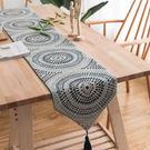 時尚可愛空間餐桌布 茶几布 隔熱墊 鍋墊 杯墊 餐桌巾桌旗 483 (32*160cm)