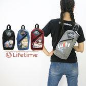 ﹝海賊王雙拉鍊肩背包﹞正版後背包 運動包 側背包 旅行包 航海王 ONE PIECE〖LifeTime一生流行館〗