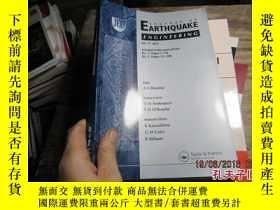 二手書博民逛書店JOURNAL罕見OF EARTHQUAKE ENGINEERI