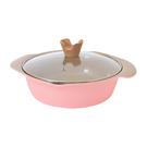 頂尖廚師TOP CHEF玫瑰鑄造不沾萬用鍋24cm(適用電磁爐)