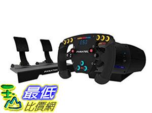 [9美國直購] FANATEC 遊戲賽車方向盤套組 CLUBSPORT CSL ELITE F1 SET FOR PC AND PS4
